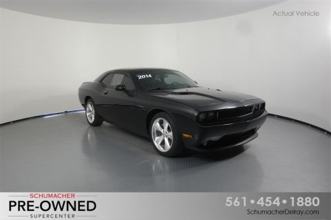 Certified Pre-Owned 2014 Dodge Challenger R/T RWD 2D Coupe