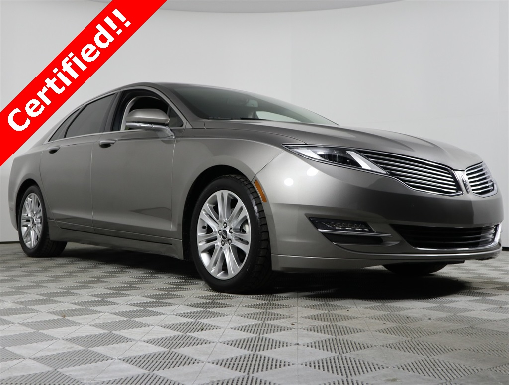Certified Pre Owned 2016 Lincoln Mkz Hybrid