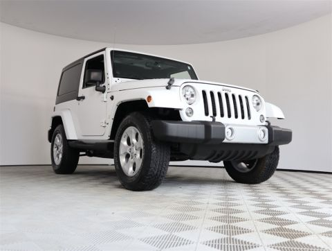 Certified Pre-Owned 2014 Jeep Wrangler Sahara 4WD