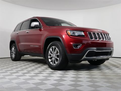 Pre-Owned 2014 Jeep Grand Cherokee Limited RWD 4D Sport Utility