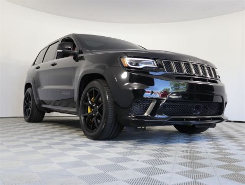 Pre-Owned 2018 Jeep Grand Cherokee Trackhawk 4WD