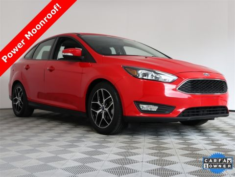 Pre-Owned 2017 Ford Focus SEL FWD 4D Sedan