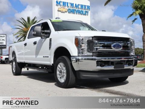 Pre-Owned 2018 Ford F-250SD XLT 4WD