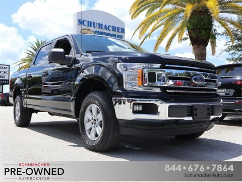 Pre-Owned 2018 Ford F-150 XLT 4WD