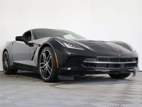 Certified Pre-Owned 2015 Chevrolet Corvette Stingray Z51 RWD 2D Coupe