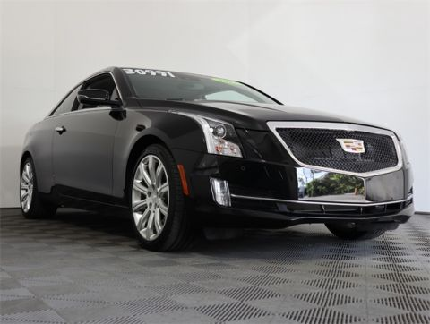 Pre-Owned 2017 Cadillac ATS 2.0L Turbo Luxury RWD 2D Coupe