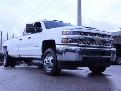 Pre-Owned 2019 Chevrolet Silverado 3500HD Work Truck 4WD