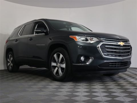 Certified Pre-Owned 2019 Chevrolet Traverse LT Leather FWD 4D Sport Utility