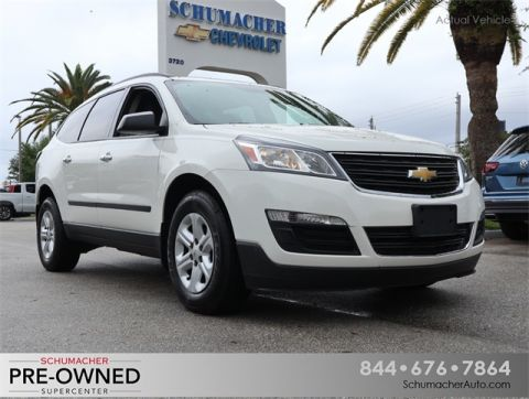 Pre-Owned 2014 Chevrolet Traverse LS FWD 4D Sport Utility