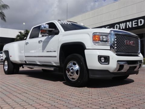 Certified Pre-Owned 2016 GMC Sierra 3500HD Denali 4WD