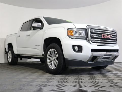 Pre-Owned 2016 GMC Canyon SLT RWD 4D Crew Cab