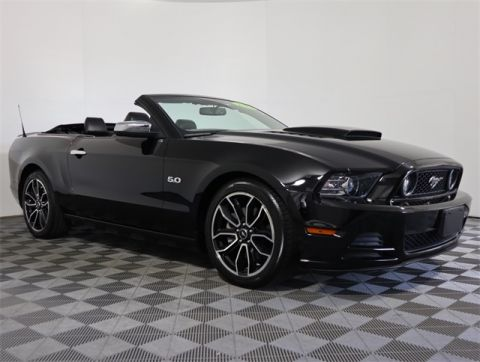 Pre-Owned 2013 Ford Mustang GT RWD 2D Convertible