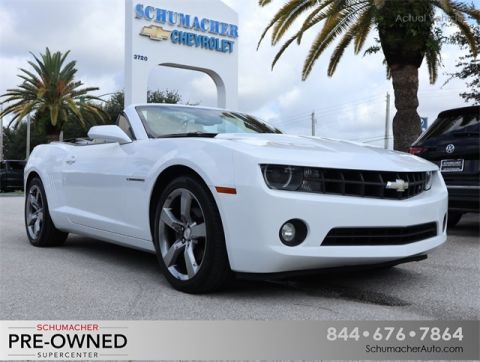 Pre-Owned 2012 Chevrolet Camaro 2LT RWD 2D Convertible