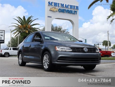 Certified Pre-Owned 2018 Volkswagen Jetta 1.4T S FWD 4D Sedan