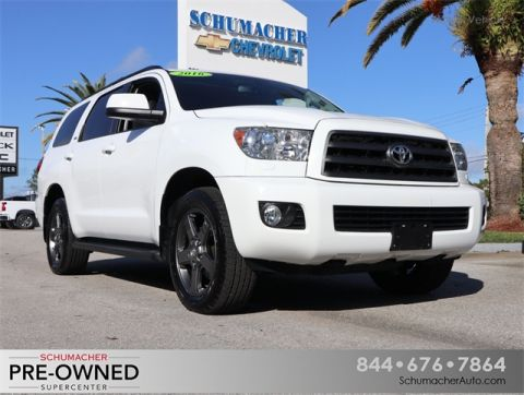 Pre-Owned 2016 Toyota Sequoia SR5 4WD