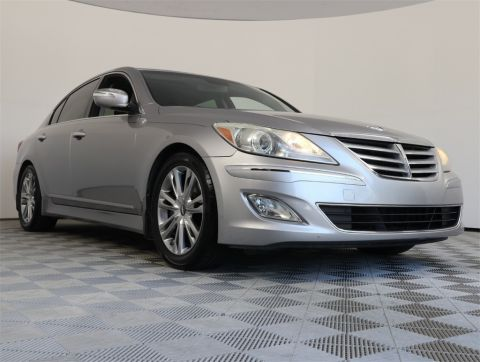 Pre-Owned 2012 Hyundai Genesis 3.8 RWD 4D Sedan