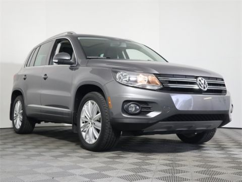 Certified Pre-Owned 2015 Volkswagen Tiguan SEL AWD