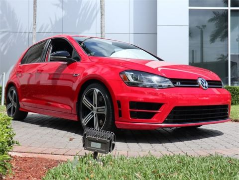 Certified Pre-Owned 2016 Volkswagen Golf R Base AWD