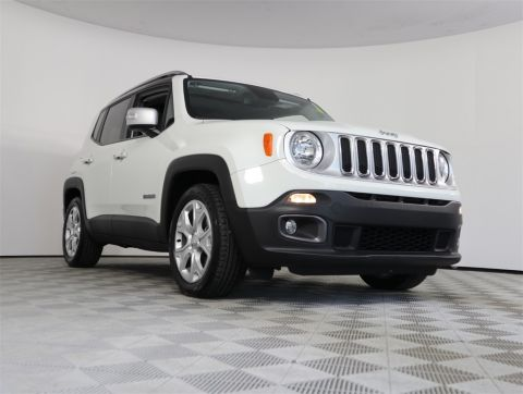 Certified Pre-Owned 2017 Jeep Renegade Limited FWD 4D Sport Utility